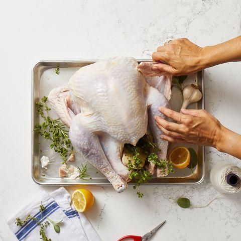 tucking turkey wings