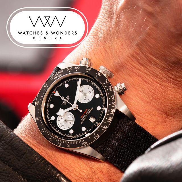tudor black bay chronograph watches and wonders 2021
