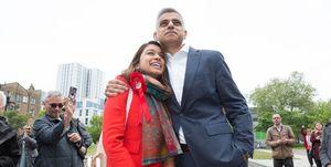 Tulip Siddiq and Mayor of London Sadiq Khan