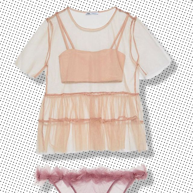 tulle clothes   sheer clothing