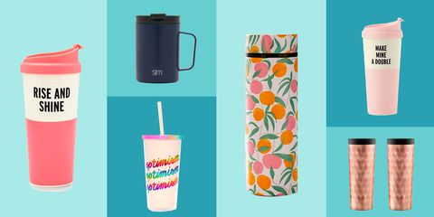 Tumbler, Orange, Turquoise, Cup, Drinkware, Cylinder, Vacuum flask, Plastic bottle, Plastic,