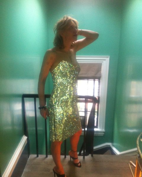 Clothing, Dress, Shoulder, Fashion, Cocktail dress, Fashion design, Waist, Long hair,