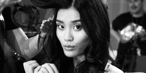 Hair, Photograph, Hairstyle, Black-and-white, Beauty, Photography, Model, Long hair, Photo shoot, Monochrome photography,
