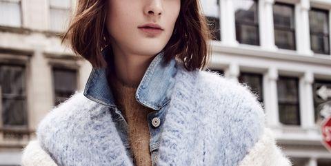 Clothing, Fur, Outerwear, Fur clothing, Woolen, Coat, Wool, Fashion, Street fashion, Collar,