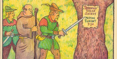 Cartoon, Text, Illustration, Art, Fictional character,