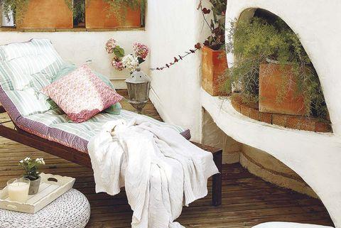 Terrazas y jardines: Tumbona