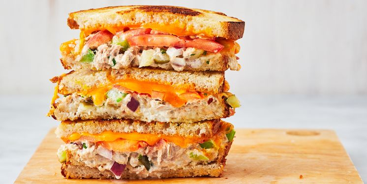 Best Tuna Melt Recipe How To Make Tuna Melt