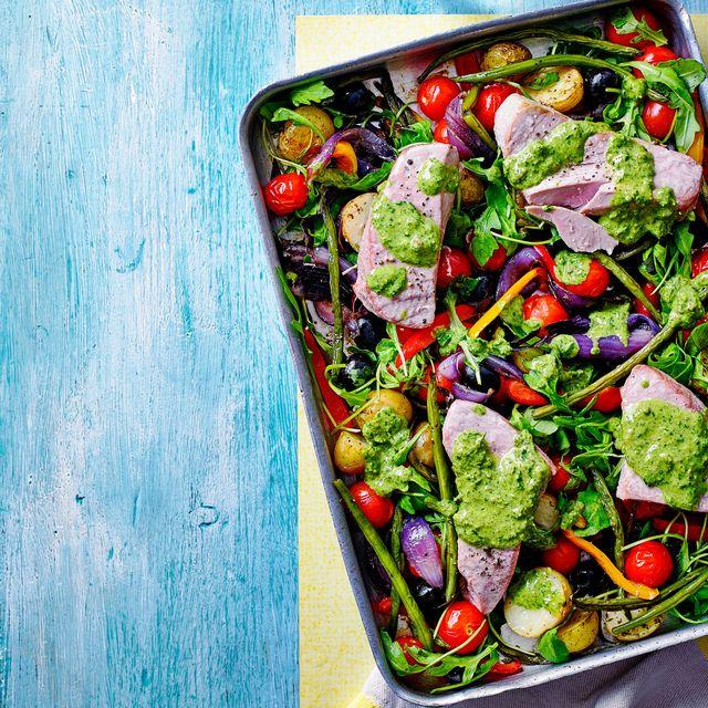 best fish recipes tuna traybake
