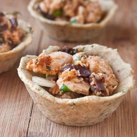 Tuna Salad Bean Cups