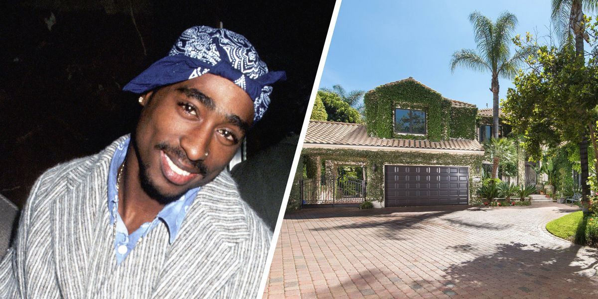 Tupac Shakur S La Mansion For Sale Celebrity Homes For Sale