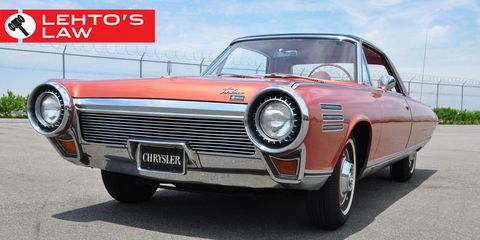 Even Opening The Hood Or Trunk In A Chrysler Turbine Car Was Difficult