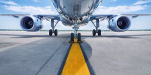 airplane airline air travel