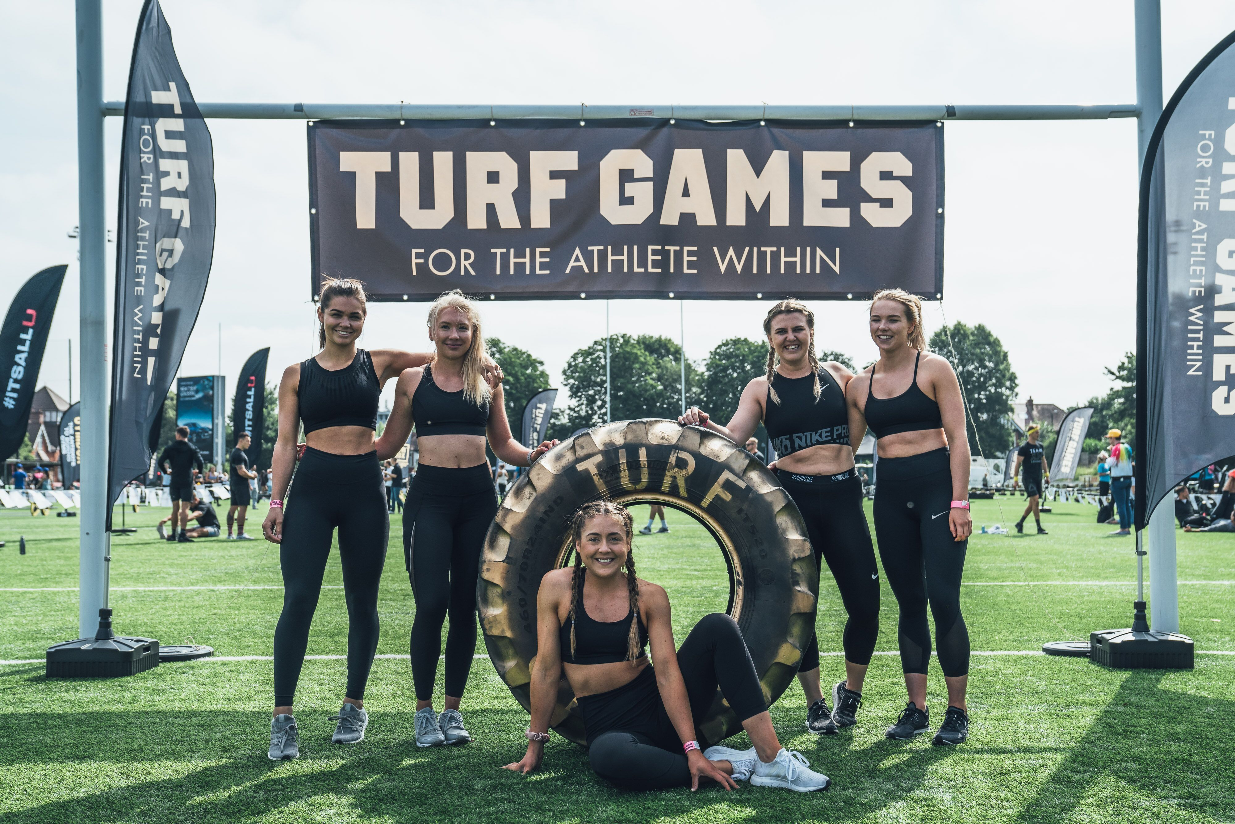 50% off Spectator Tickets to the Under Armour Turf Games for Women Health Readers
