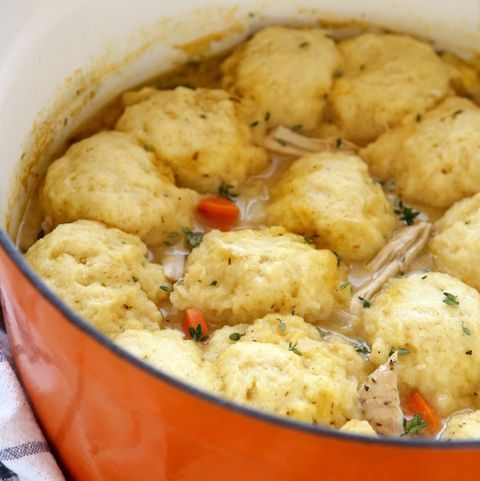 turkey and dumplings - thanksgiving leftovers