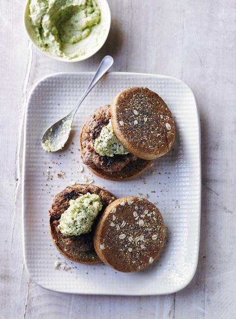 Turkey & avocado muffins