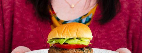 Turkey Burger Horizontal