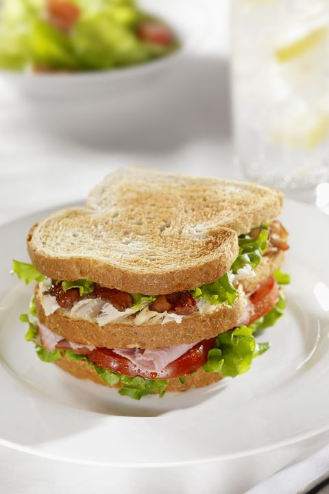 turkey hummus club sandwich recipe