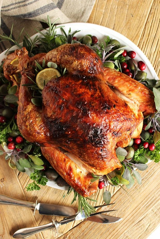 turkey recipes citrus herb