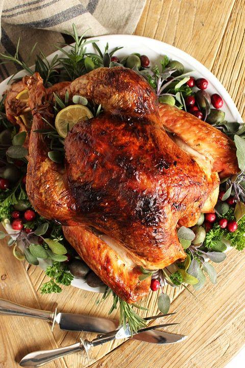 turkey recipes citrus herb
