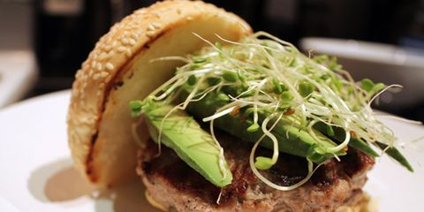 Ravenous Turkey Burger