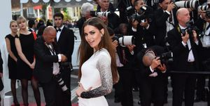 Fahriye Evcen70th Cannes Film Festival - The Meyerowitz Stories premiere