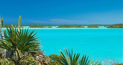 Caribbean, Sea, Blue, Turquoise, Tropics, Vacation, Shore, Ocean, Azure, Sky,