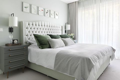 Pleasant 22 Green Bedroom Design Ideas For A Fresh Upgrade Home Interior And Landscaping Ologienasavecom