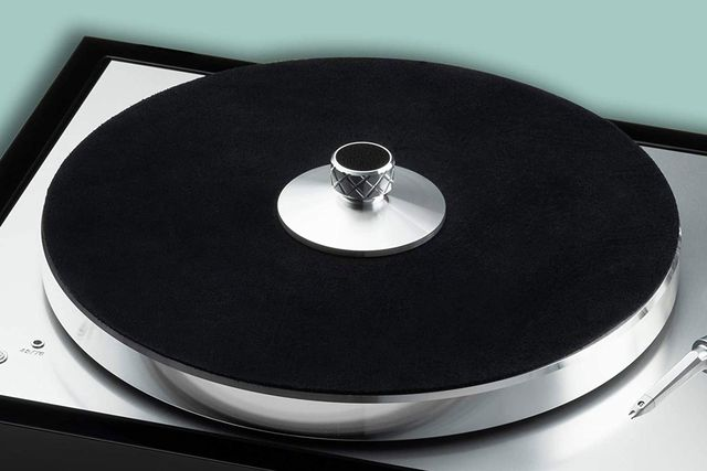 project turntable record clamp