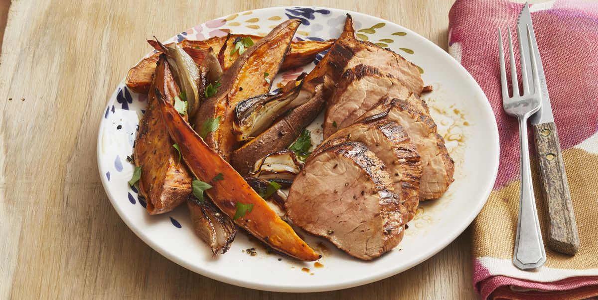 Make This Tuscan Pork Sheet-Pan Supper Tonight