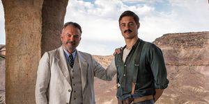 Sam Neill y Max Irons, protagonistas de 'Tutankamón'