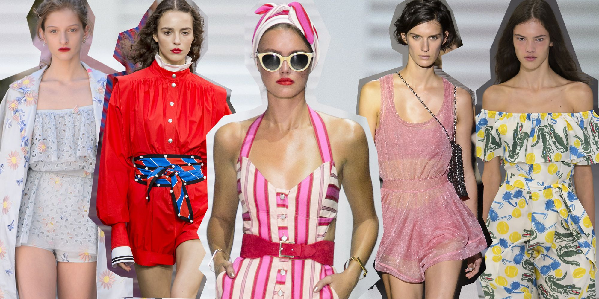 Tutine modelli jumpsuit  le tendenze moda per l estate 2018 1832552cc16