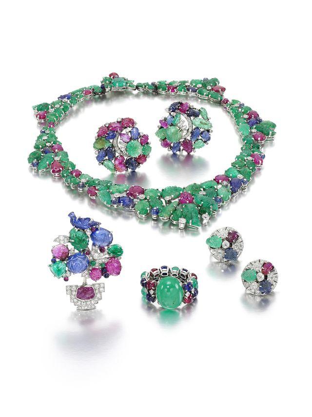 tutti frutti style jewels