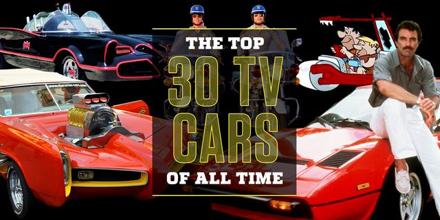 73c9b1f18ab77 Best TV Cars of All Time | Cars in TV