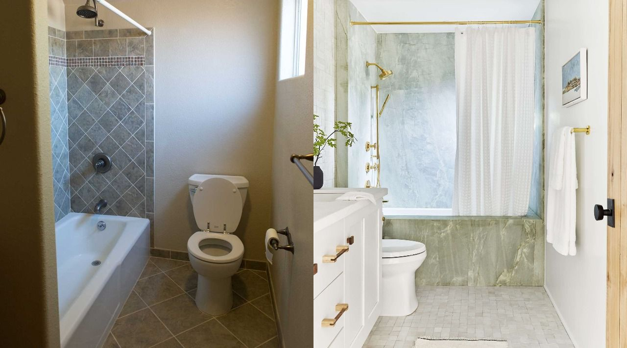 These 11 Stylish Bathroom Remodel Ideas, Complete Bathroom Remodel