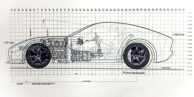 New tvrs blueprint shows 2755 pounds of perfection courtesy of autocar malvernweather Choice Image