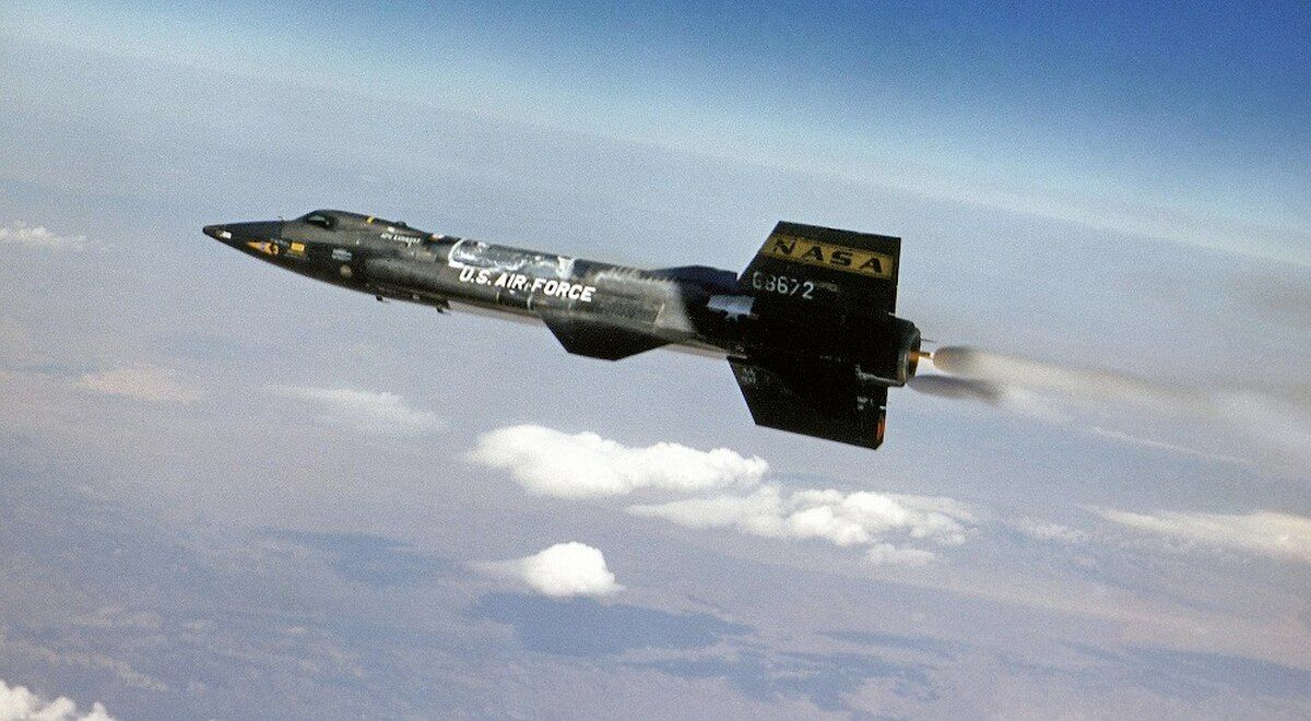 Avião-foguete X-15 [NASA]