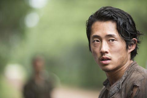 steven yeun as glenn rhee   the walking dead  season 5, episode 10   photo credit gene pageamc