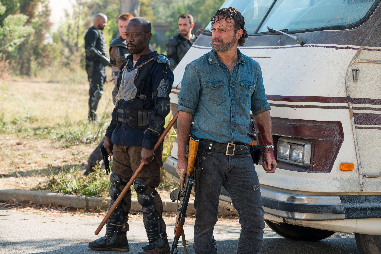 Walking Dead's Lennie James wants Morgan and Rick Grimes reunion