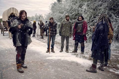 'The Walking Dead': Las imágenes del último capítulo de la novena temporada