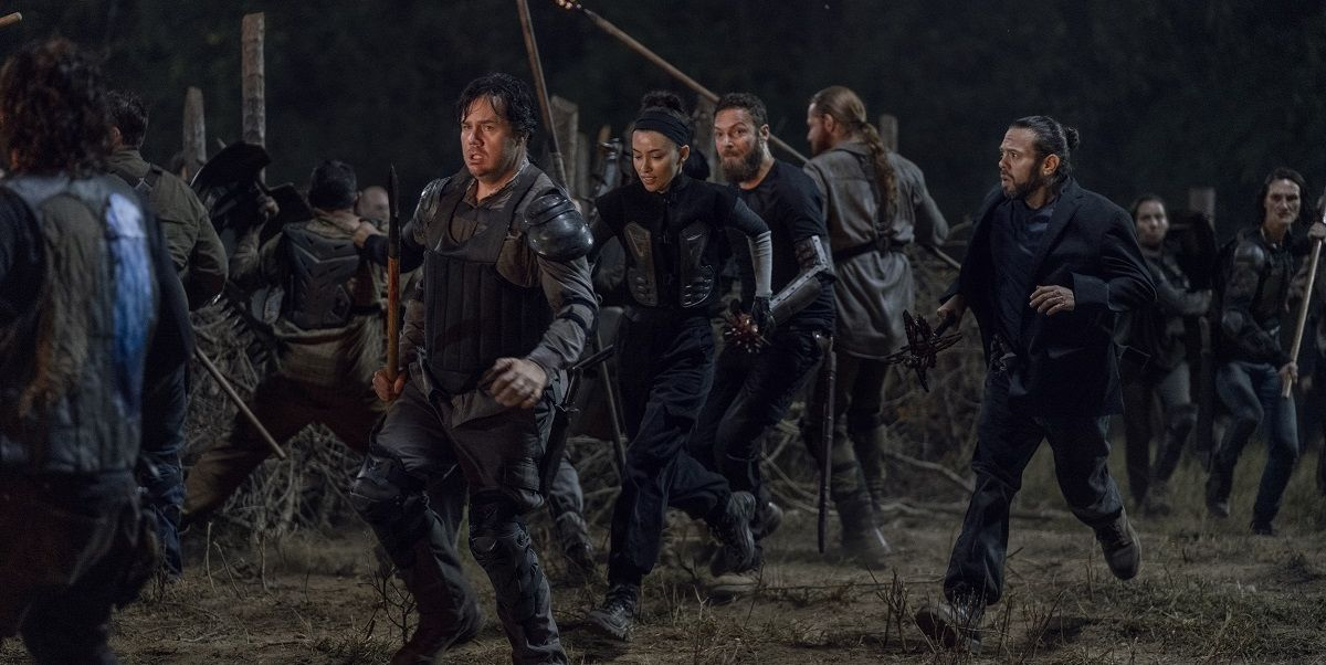 El episodio final de 'The Walking Dead 10' estaba prácticamente terminado