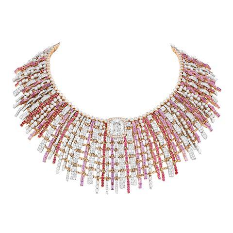 Necklace, Jewellery, Body jewelry, Fashion accessory, Neck, Bead, Jewelry making, Chain, Wing, Metal,