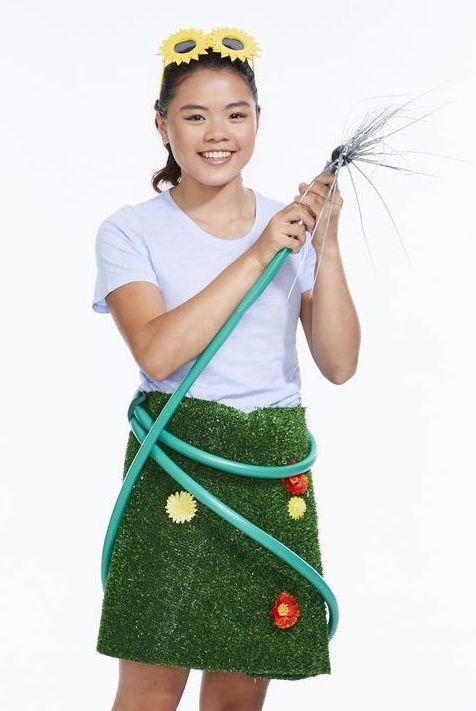 tween halloween costumes lawn girl