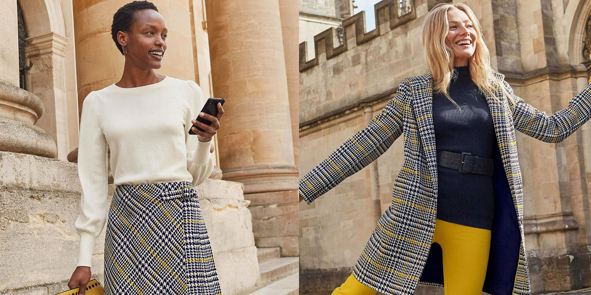 Boden's new tweed collection is the perfect modern twist on a classic