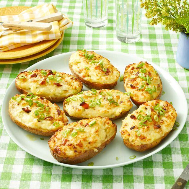 twice baked potatoes recipe