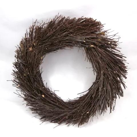 twig christmas wreath