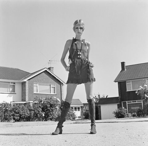 Twiggy años 60
