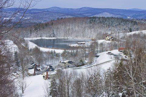 Snow, Winter, Freezing, Geological phenomenon, Tree, Ice, Landscape, Home, Mountain, Terrain,