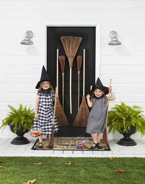 twin halloween costumes witches