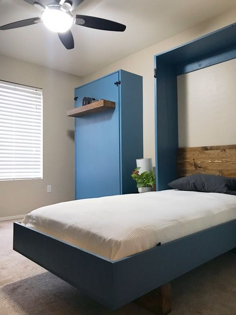 Diy Murphy Beds How To Build A Bed, Twin Size Deluxe Murphy Bed Hardware Kit Horizontal