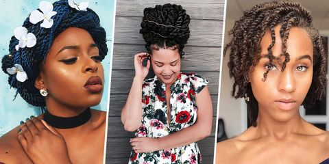 12 Best Twisted Hairstyles - Protective Hairstyles for Natural Hair